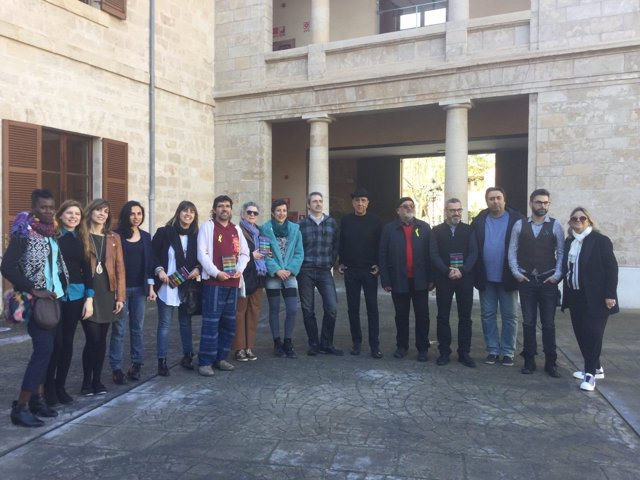 Los poetas del Festival de Poesia de la Mediterrània