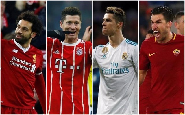 Liverpool, Bayern, Real Madrid y Roma, rivales de Champions