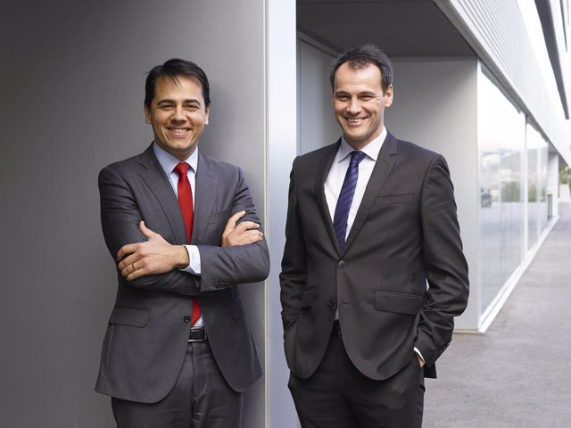 Miquel Ángel Bonachera y Sergi Audivert, fundadores de AB-Biotics