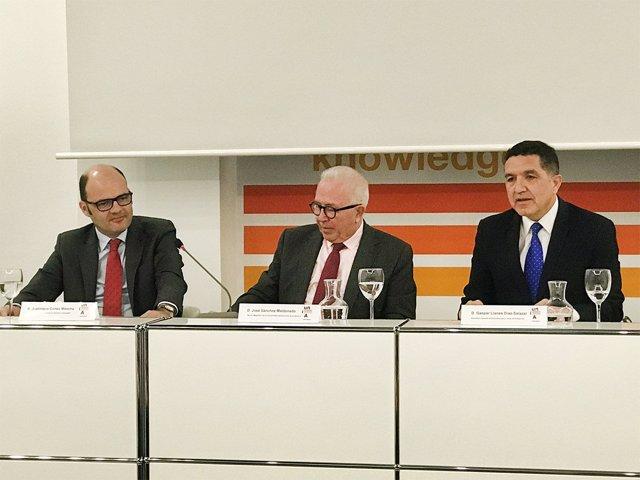 Reunión entre UNIA y Banco Santander