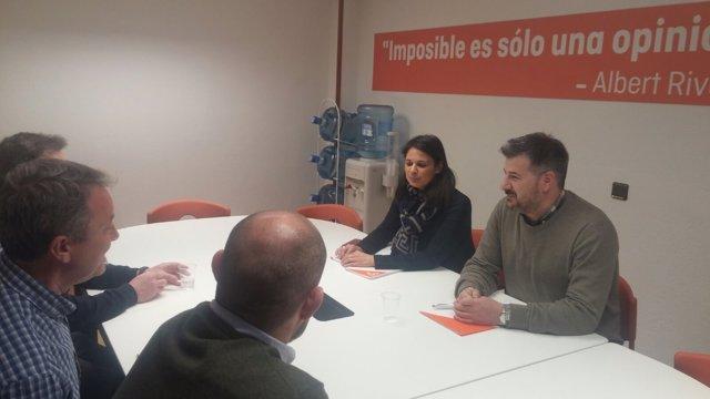 Reunión de Jusapol con Ciudadanos