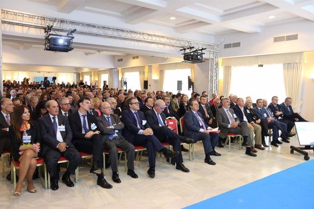 Reunión de empresarios por el Corredor Mediterráneo en Los Barrios