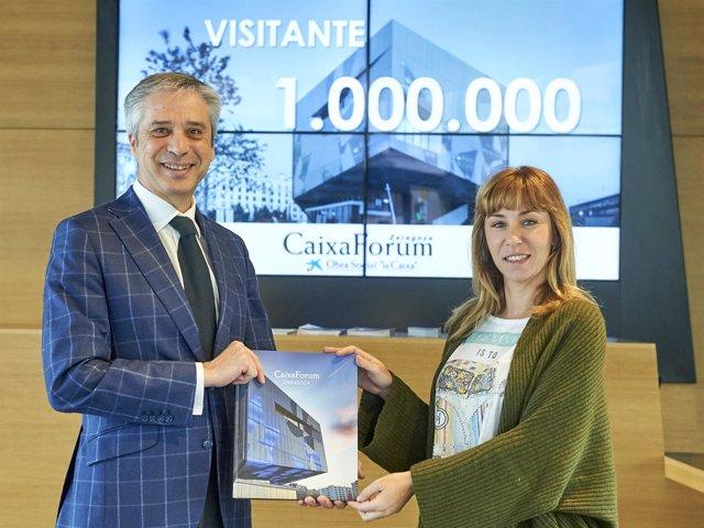 CaixaForum Zaragoza alcanza el millón de visitantes.