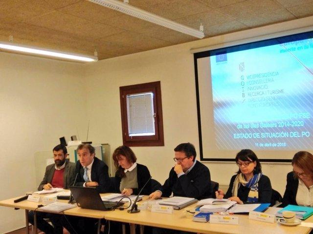Comité de Seguimiento del Programa Operativo Fondo Social Europeo 2014-2020