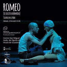 Uno de los carteles de la obra 'Romeo (o Julieta dormida)'