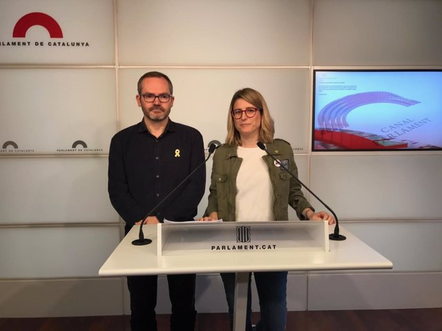 Josep Costa y Elsa Artadi, JxCat