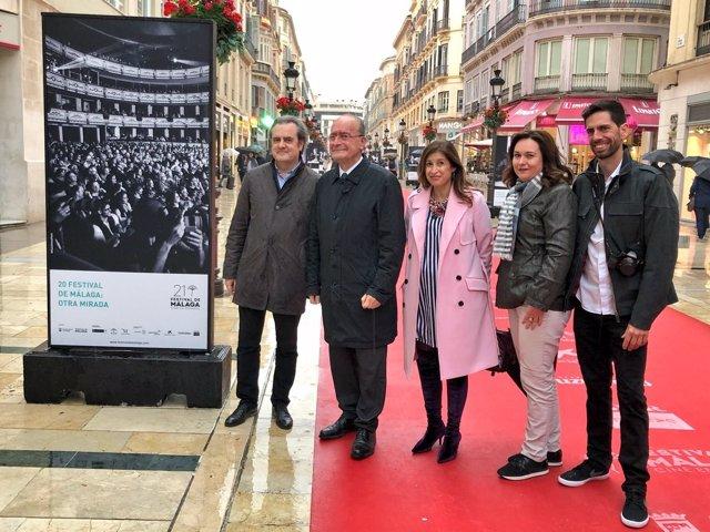 Presentación de 'La otra mirada' del FEstival de Cine de Málaga