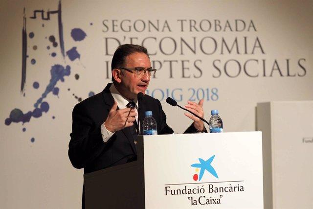 El dtor.De la Fundación Bancaria La Caixa, Jaume Giró