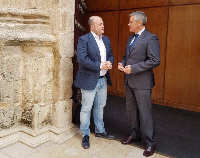 Francisco Javier Cano y Julio Díaz, de Ciudadanos.