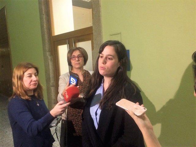 Paula Quinteiro, diputada de En Marea