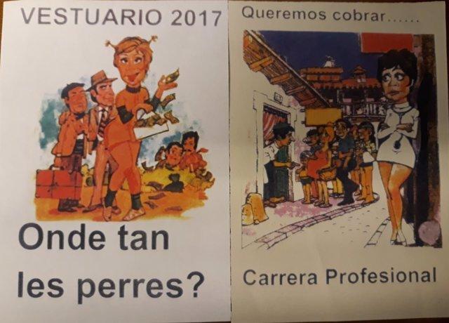 """Pasquín distribuido por el sindicato Usipa tachado de """"sexista y machista"""""""