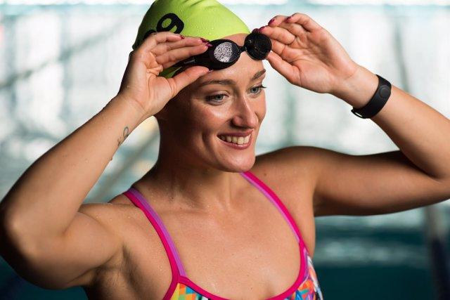 Mireia Belmonte, nueva imagen y embajadora de los gimnasios Viding