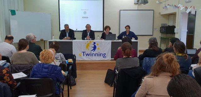 Inauguración de las jornadas de 'eTwinning'