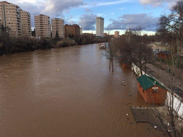 Imagen de recurso del río Pisuerga en Valladolid