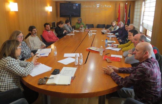 Reunión Congreso Agricultura Ecológica SEAE