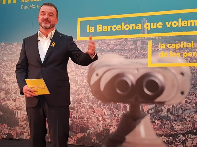 El alcaldable de ERC en Barcelona, Alfred Bosch