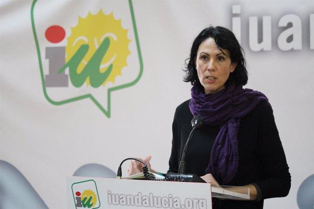 La diputada de IU en el Congreso, Eva García Sempere