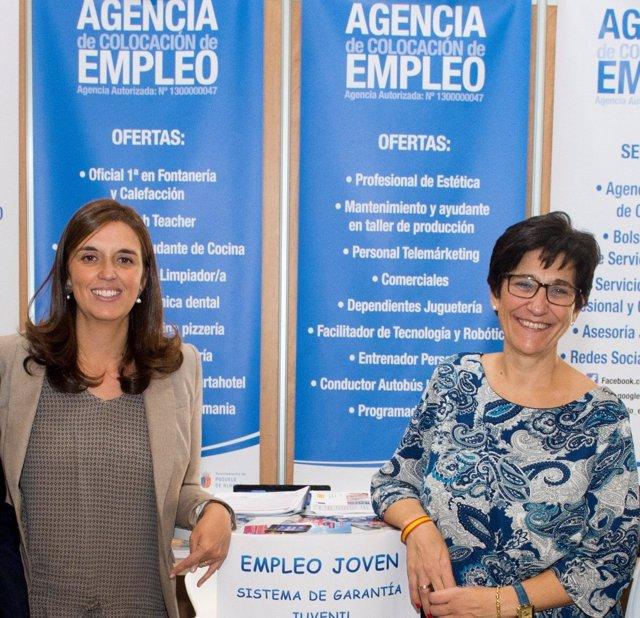 La alcaldesa de Pozuelo de Alarcón en el Foro de activación de Empleo