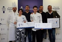 Ganadores del VI Premio Promesas de Le Cordon Bleu