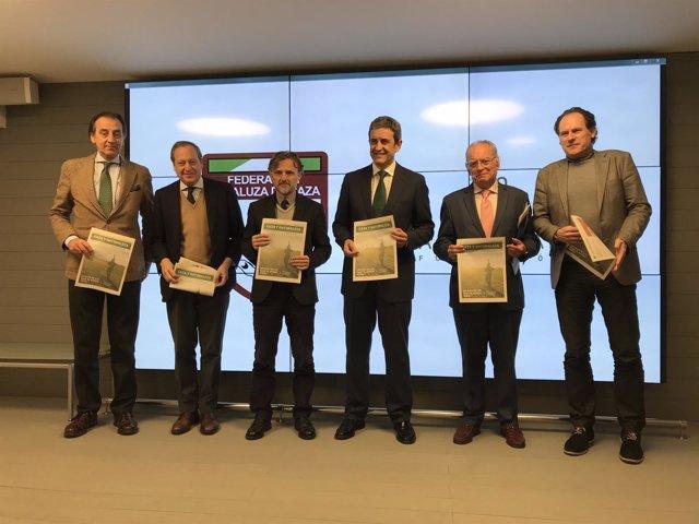 José Fiscal acude a la presentación de revista 'Caza y Naturaleza'