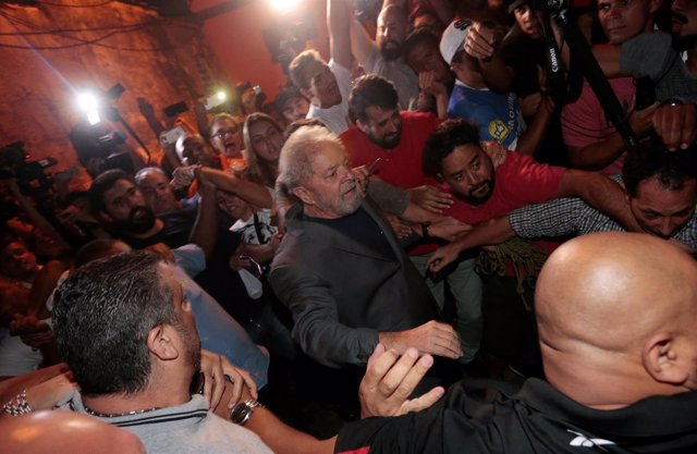 Detención del expresidente Lula