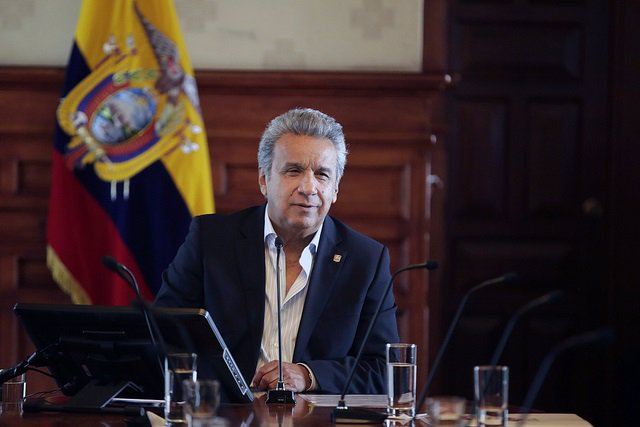 El presidnete de Ecuador, Lenín Moreno