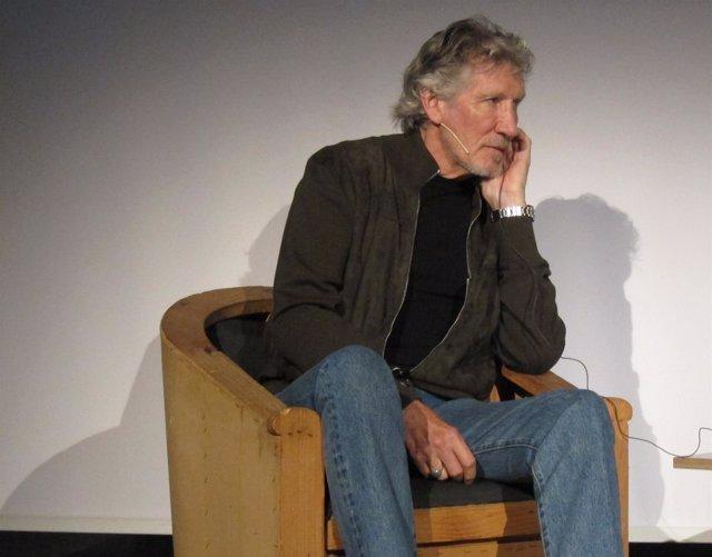 Roger Waters, bajista y fundador de Pink Floyd en Barcelona