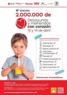 Cª Desayunos Y Meriendas #Concorazón Cruz Roja Navarra
