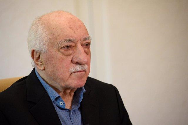 El clérigo turco Fethullah Gulen en su casa de Saylorsburg (EEUU)