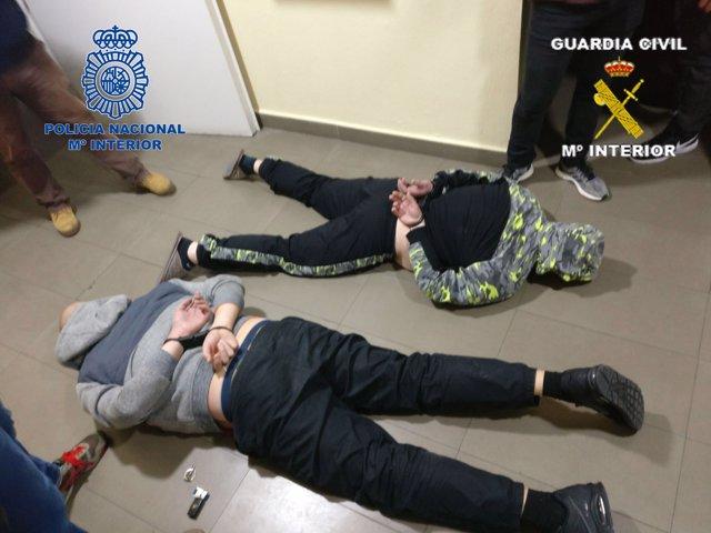 Detenidos operación 'Mate-Hortelano'