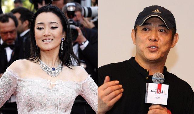 Gong Li y Jet Li