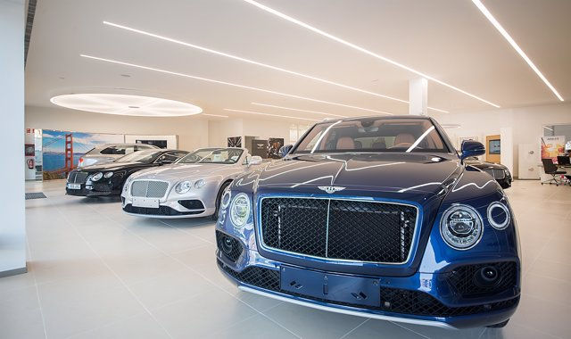 Concesionario de Bentley en Barcelona