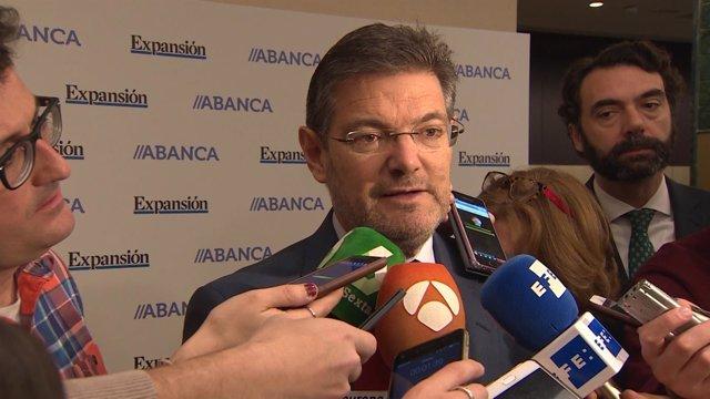 Rafael Catalá, Declara Sobre El Máster De Cristina Cifuentes