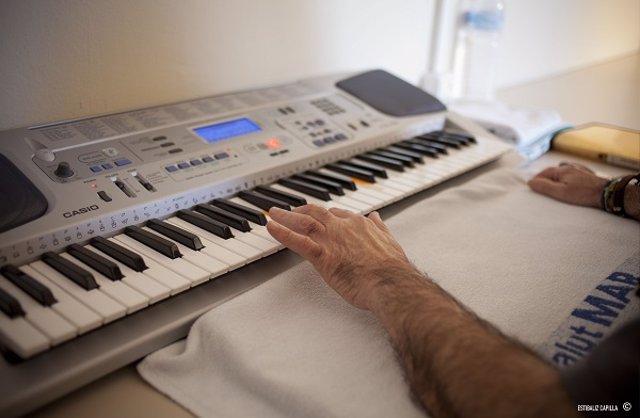 Música, hospital, terapia
