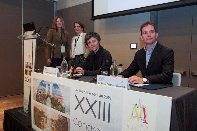 Un momento de la mesa sobre EPID celebrada en el XXIII Congreso de Neumomadrid