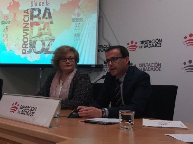 Presentación Día de la Provincia de Badajoz