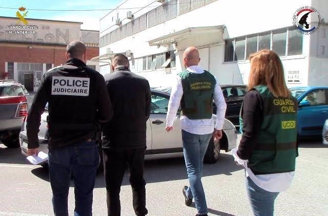 Operación de la UCO para resolver un asesinato en Francia