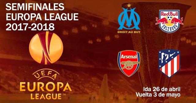 Semifinales de la Liga Europa