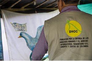 Edilberto y Silvia, dos líderes sociales que descansan en España de las amenazas de muerte que sufren en Colombia