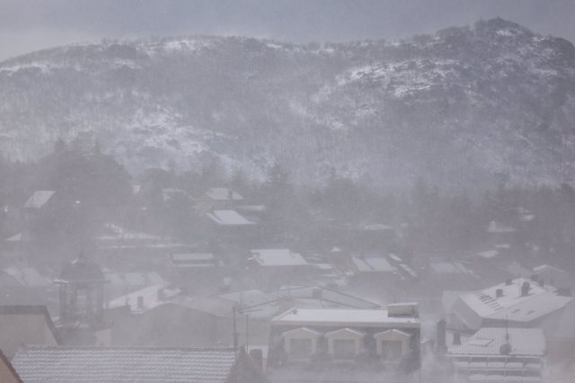 Cercedilla con nieve