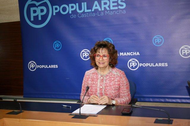 Pp Clm (Cortes De Voz Y Fotografía) Rueda De Prensa De Carmen Riolobos