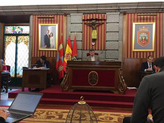 Pleno del Ayuntamiento de Burgos, 13-4-18