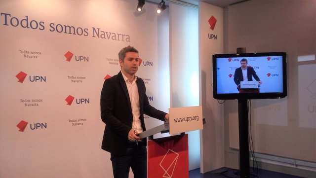 El secretario de Organización de UPN, Jorge Esparza