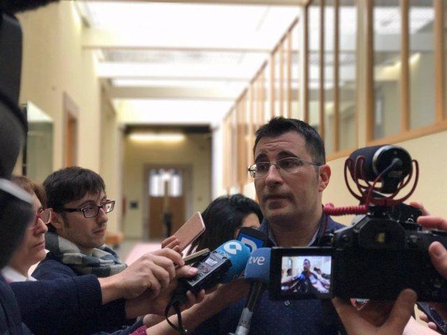 Juan Merlo, diputado de En Marea y secretario de Organización de Podemos Galicia