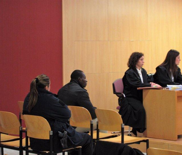 Makelele durante el juicio por la muerte Sonia Mitre (Archivo)