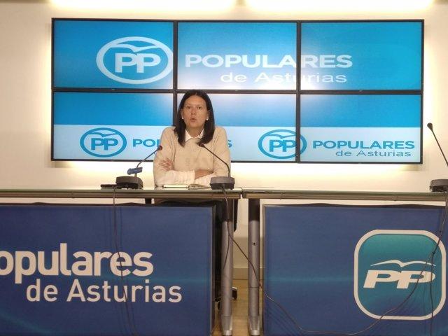 Susana López Ares, diputada del PP.