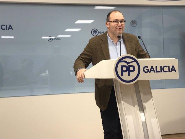 Miguel Tellado del PPdeG