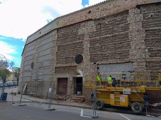Obras en plaza de toros de Ciudad Real