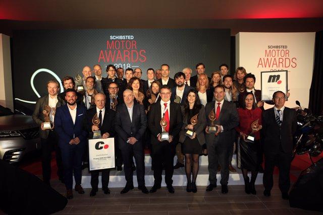 Ganadores de los Schibsted Motor Awards