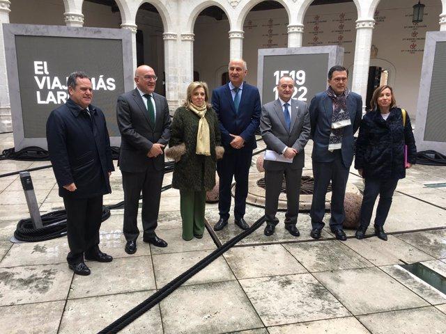 Valladolid.- Un momento de la inauguración de la exposición